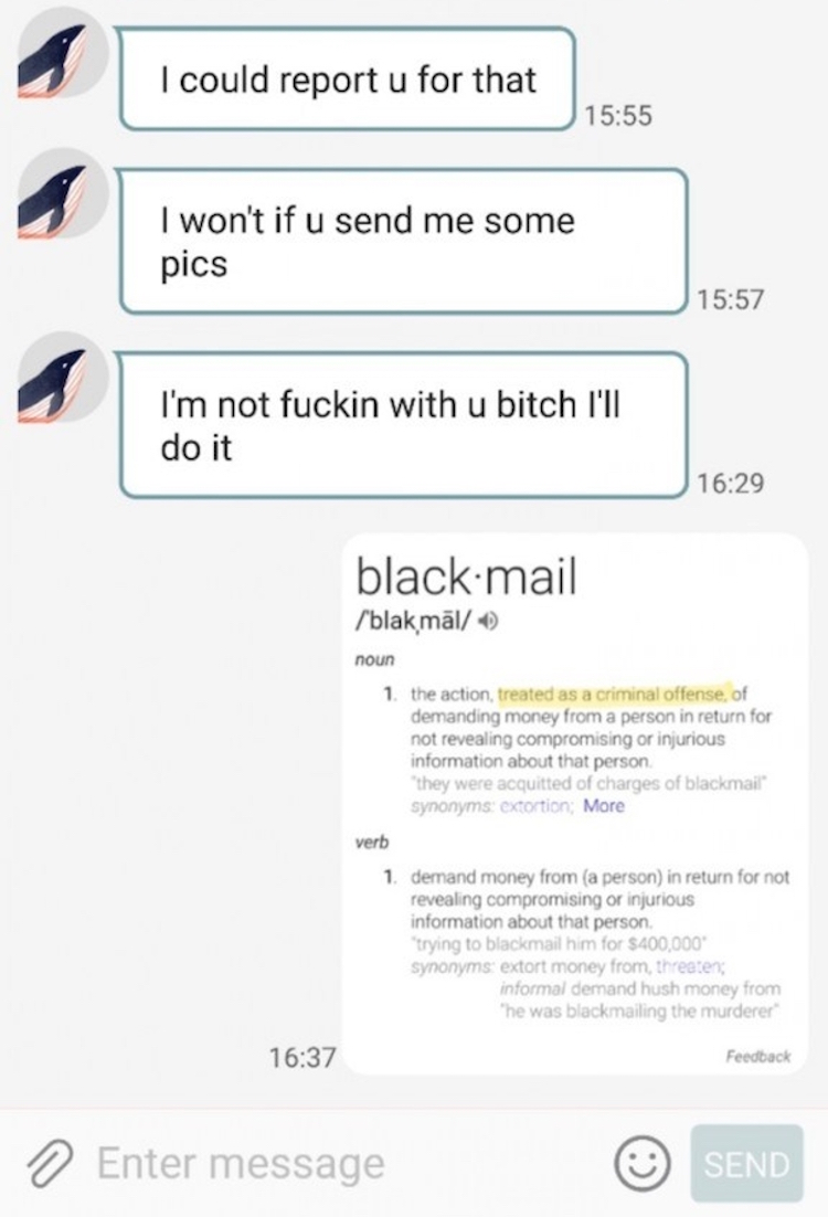 guy blackmails pizza girl3