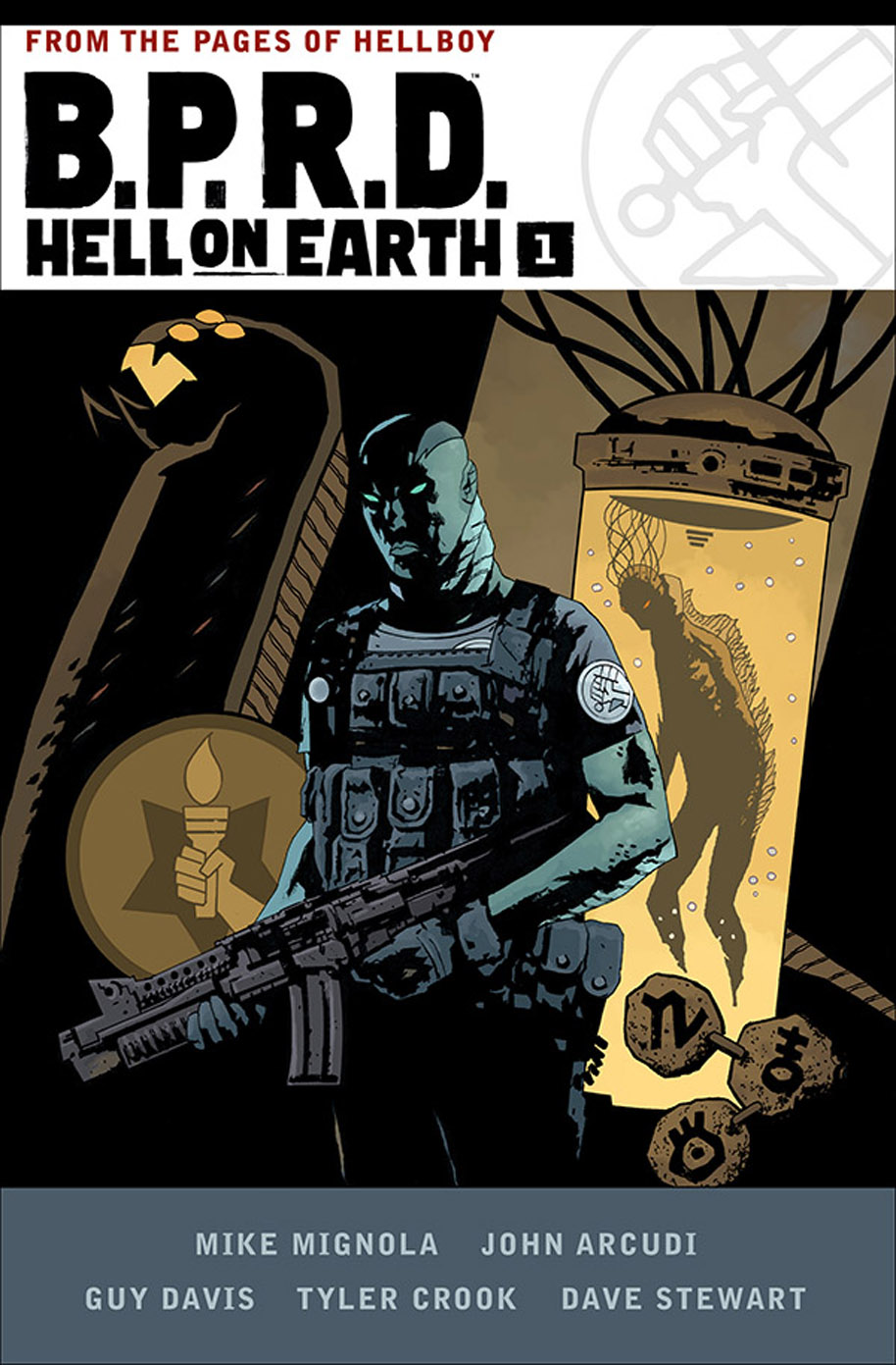 BPRD Hell on Earth HC V1 cover