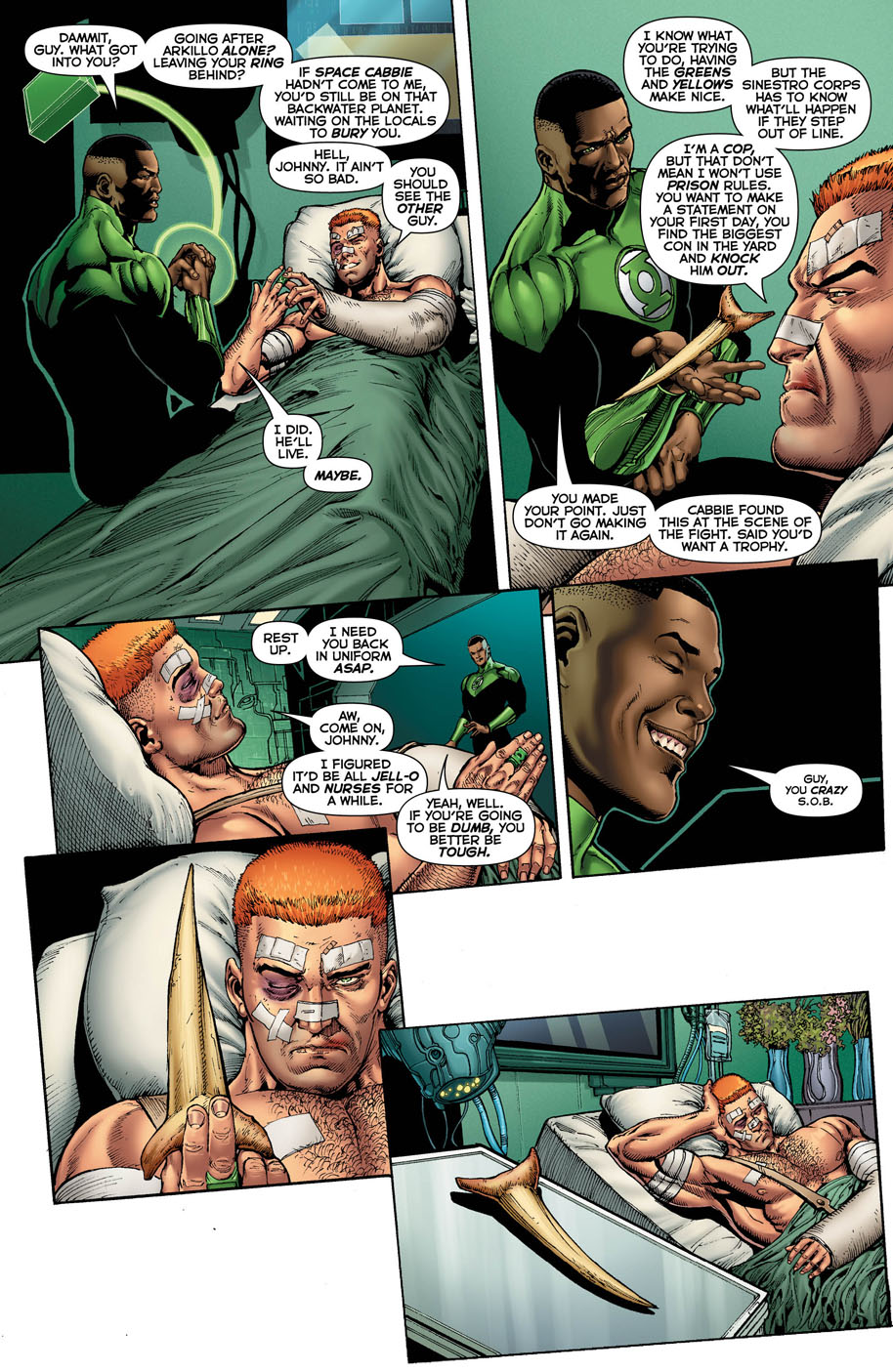 Hal Jordan and the Green Lantern Corps 17 page 4