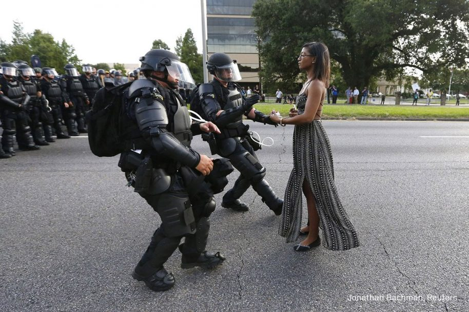 © Jonathan Bachman, Reuters. Title: Taking A Stand In Baton Rouge