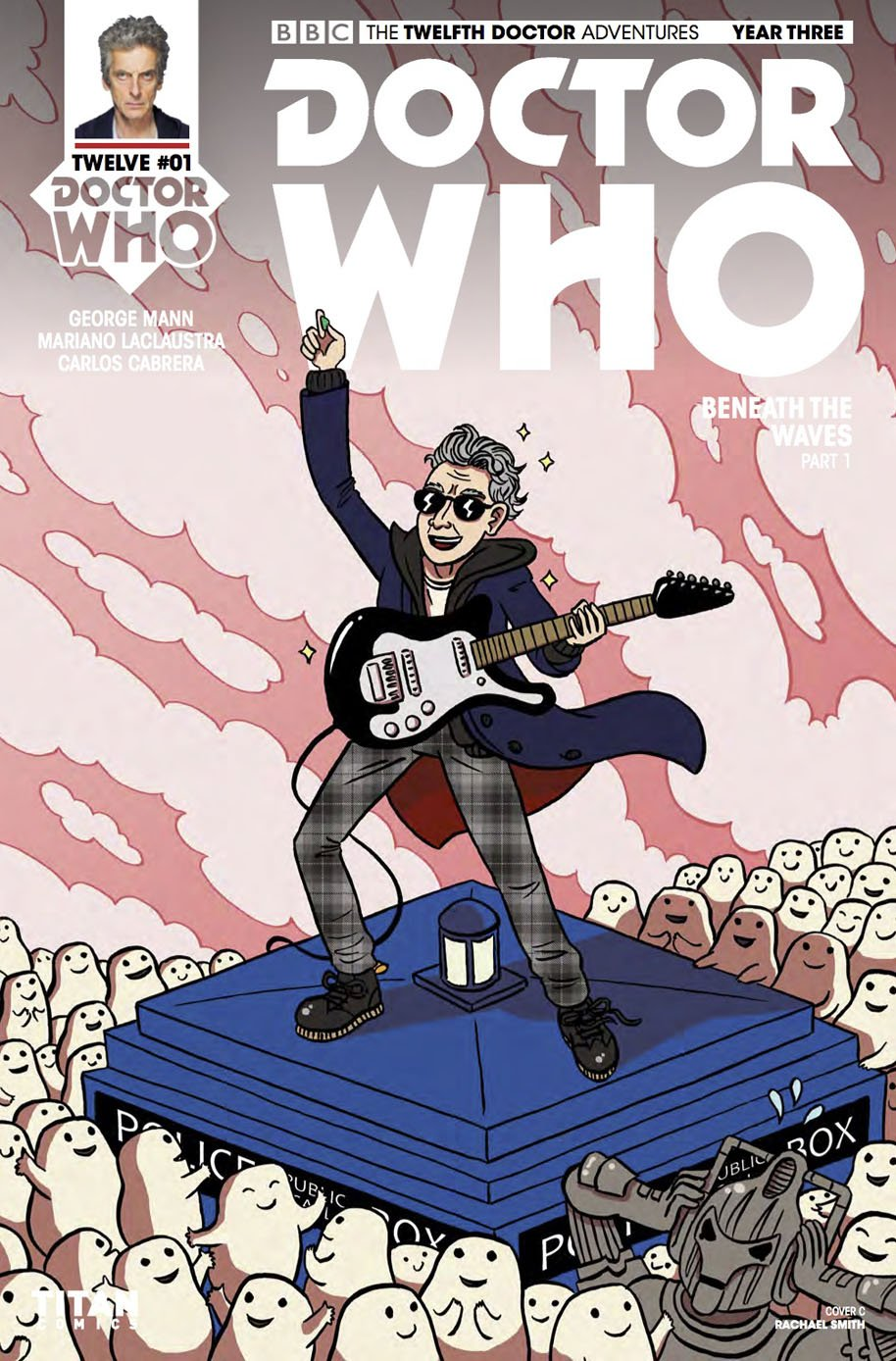 Doctor Who Twelfth Doctor Year Three 1 Cover C