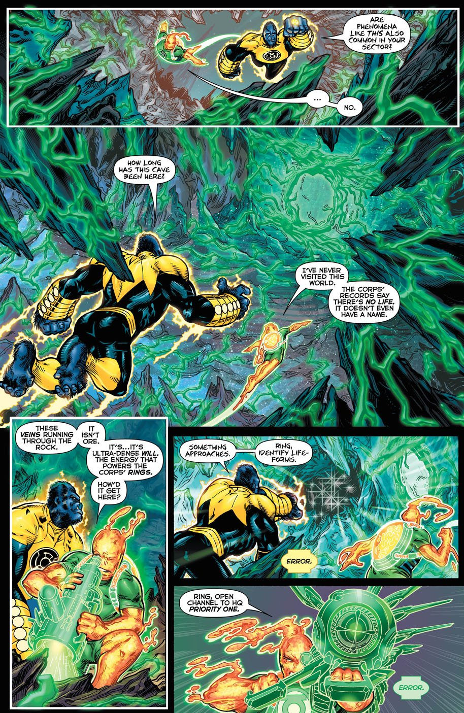 Hal Jordan and the Green Lantern Corps 18 page 3
