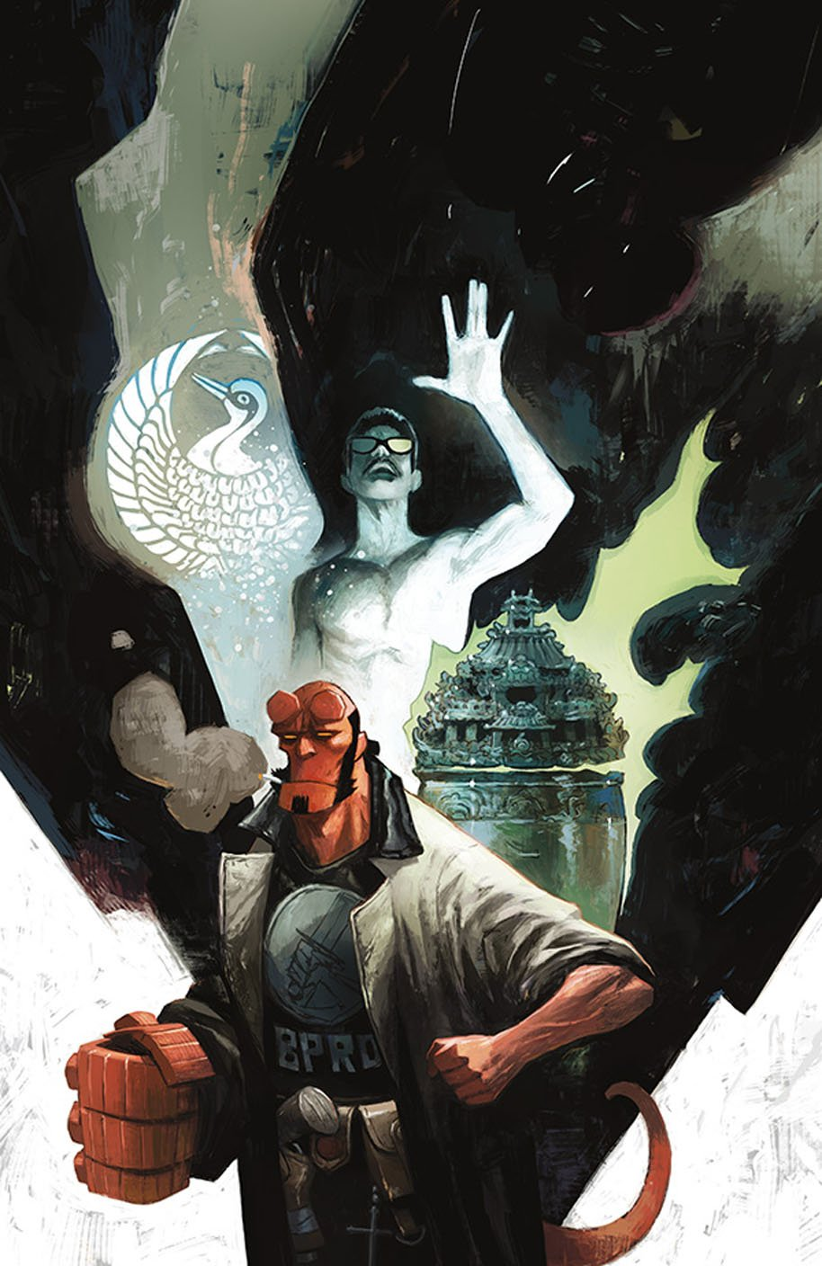 Hellboy and the BPRD 1954 Ghost Moon 2 Cover