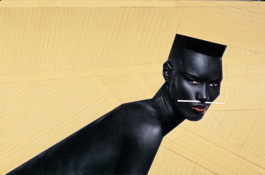 Grace Jones. Photo courtesy Jean-Paul Goude.