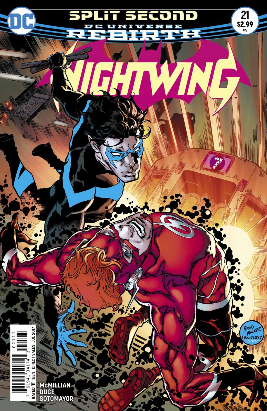 Nightwing 21 cover