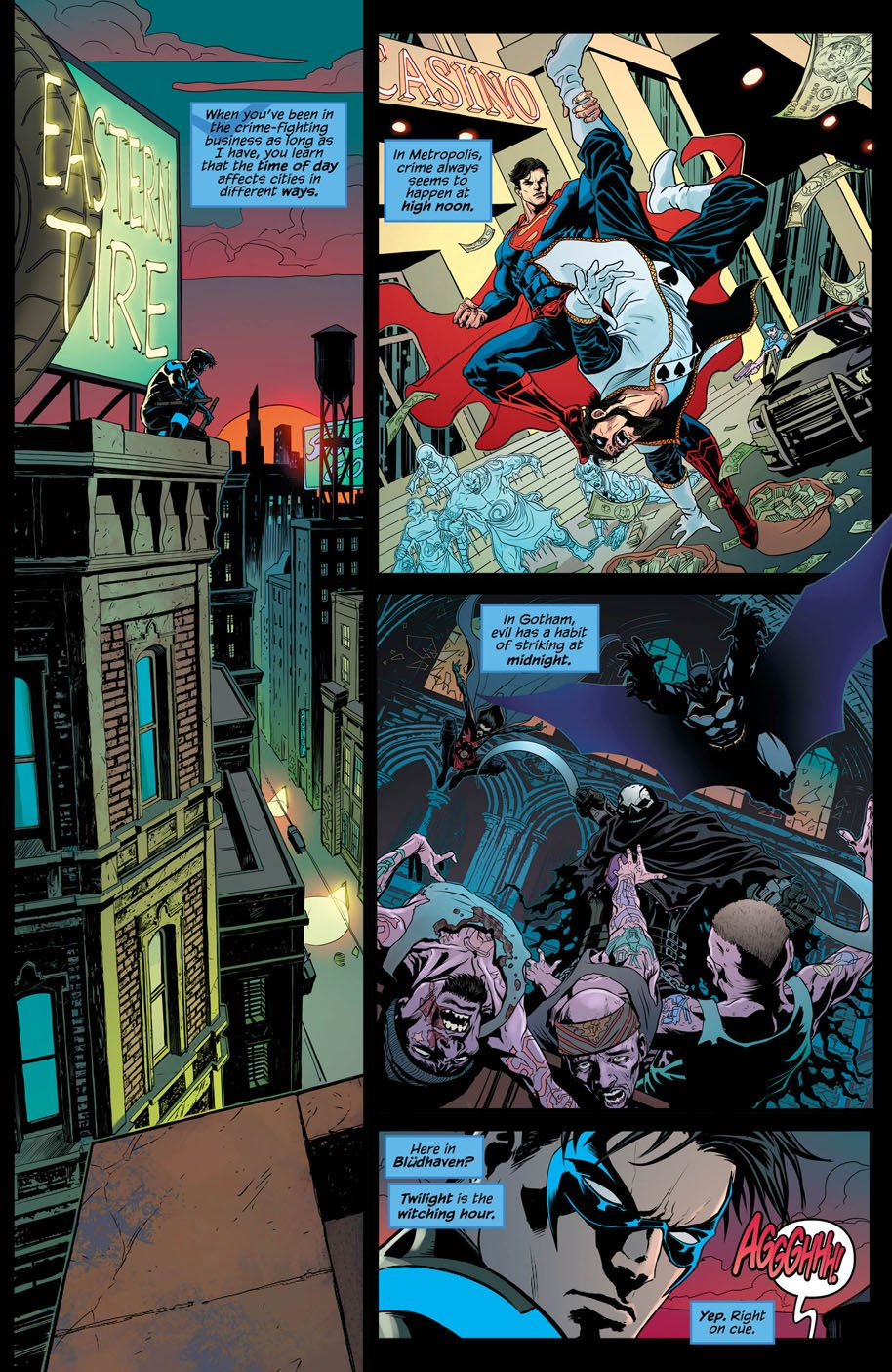 Nightwing 21 page 1