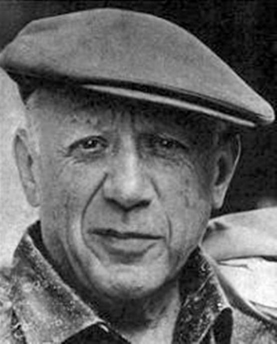 Pablo Picasso, 1962. Courtesy of Wikimedia Commons.