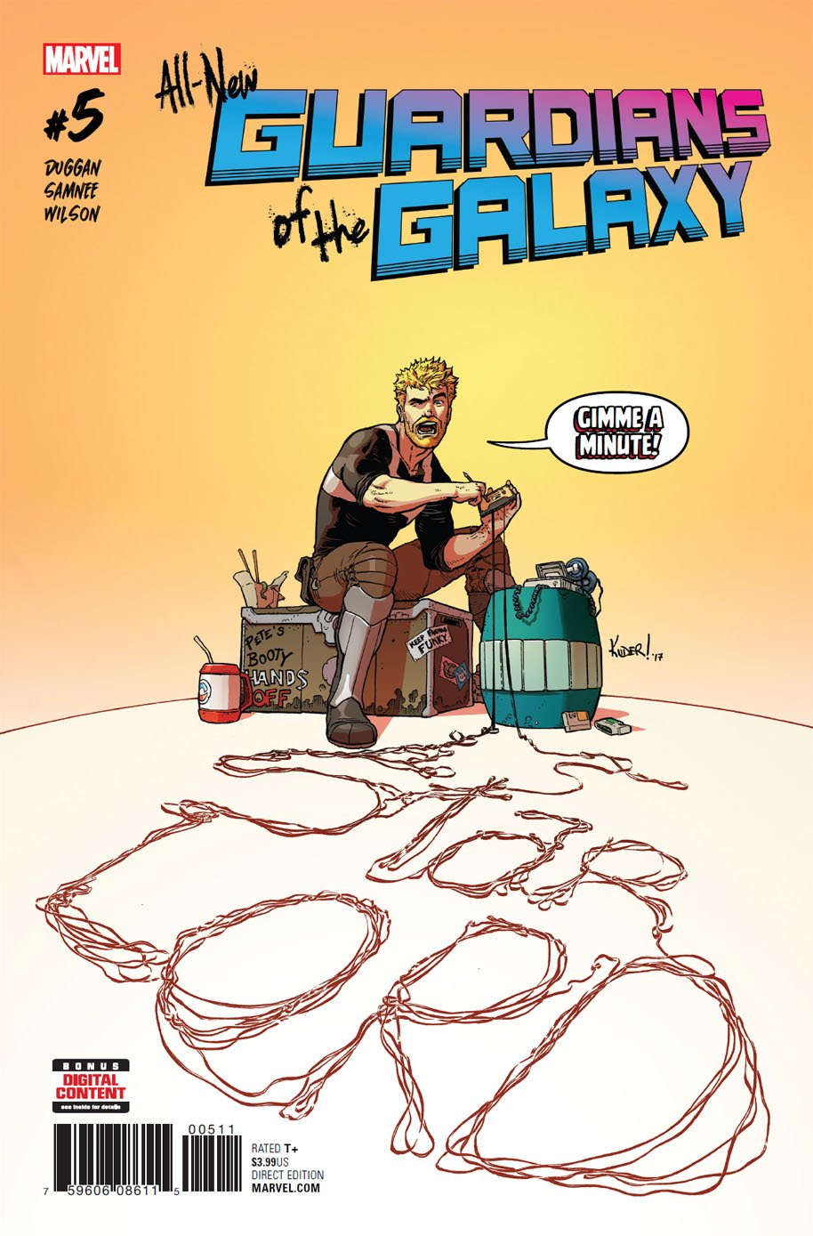 All-New Guardians of the Galaxy 5 cover