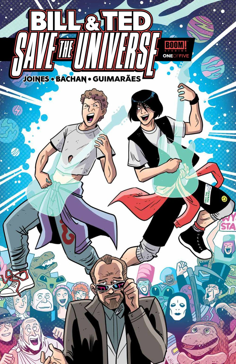 Bill & Ted Save the Universe 1 cover