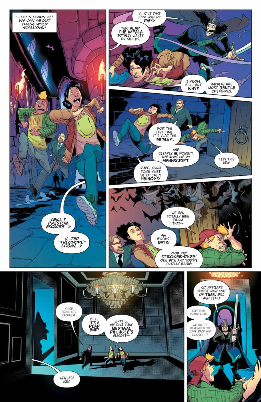 Bill & Ted Save the Universe 1 page 2