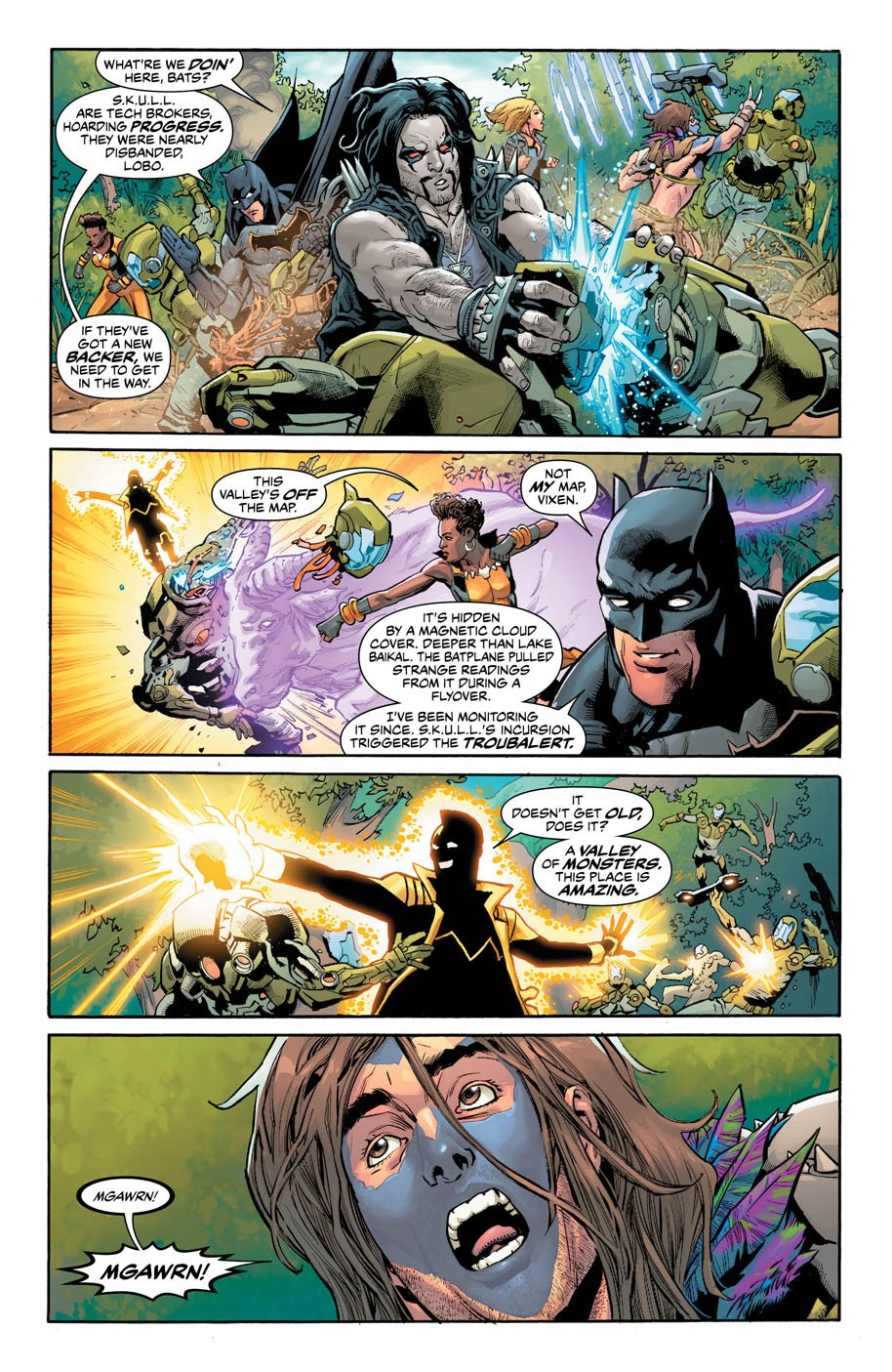 Justice League of America 8 page 5