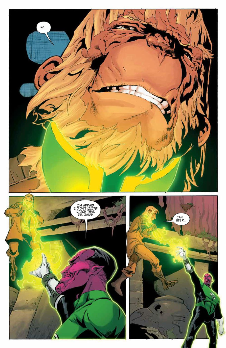 Planet of the Apes Green Lantern 5 page 3