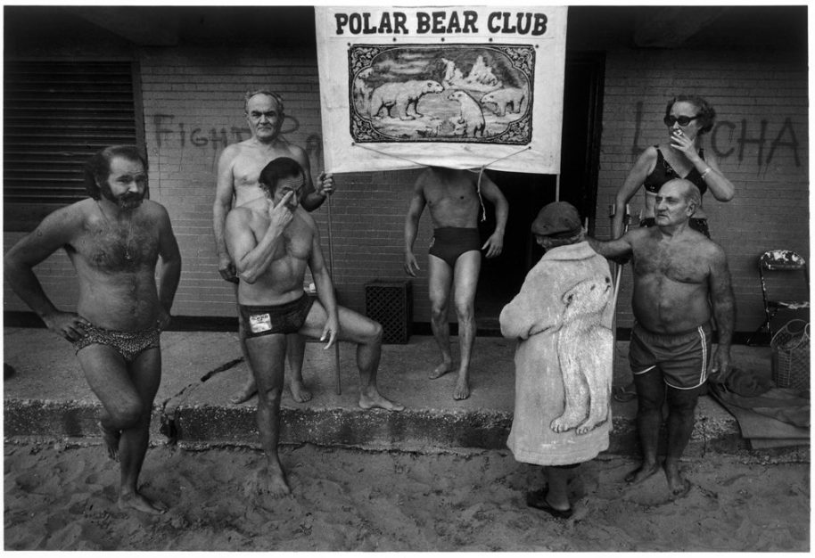 Polar Bear Club 1981. © Harvey Stein 2011.
