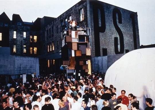 Warm Up 1998. Image courtesy of MoMA PS1.