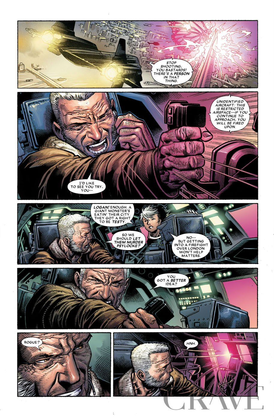 Astonishing X-Men 1 preview page 3