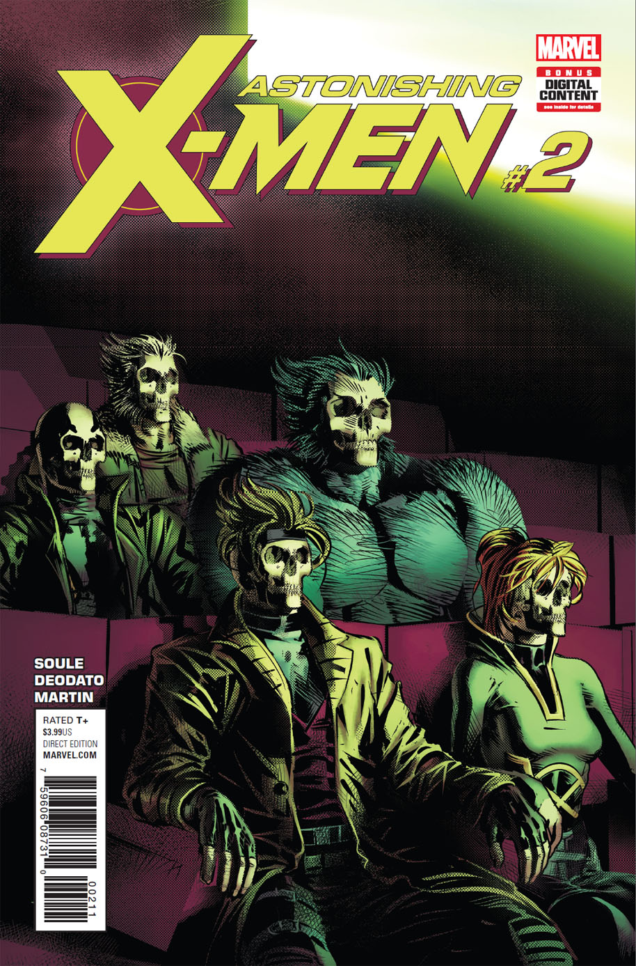 Astonishing X-Men 2 cover