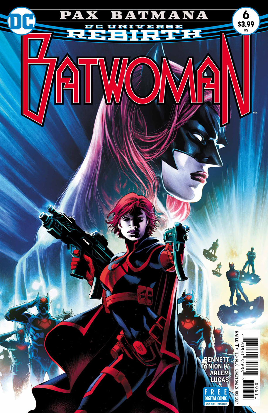 Batwoman 6 cover