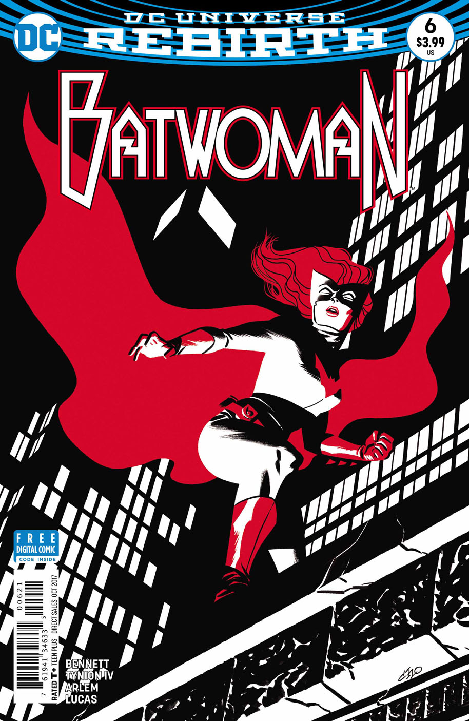 Batwoman 6 open order variant cover