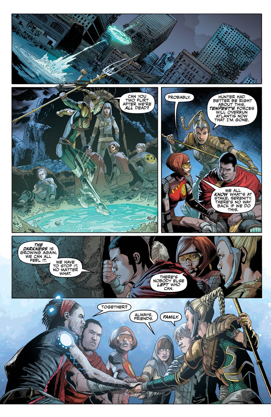 Justice League 26 page 4