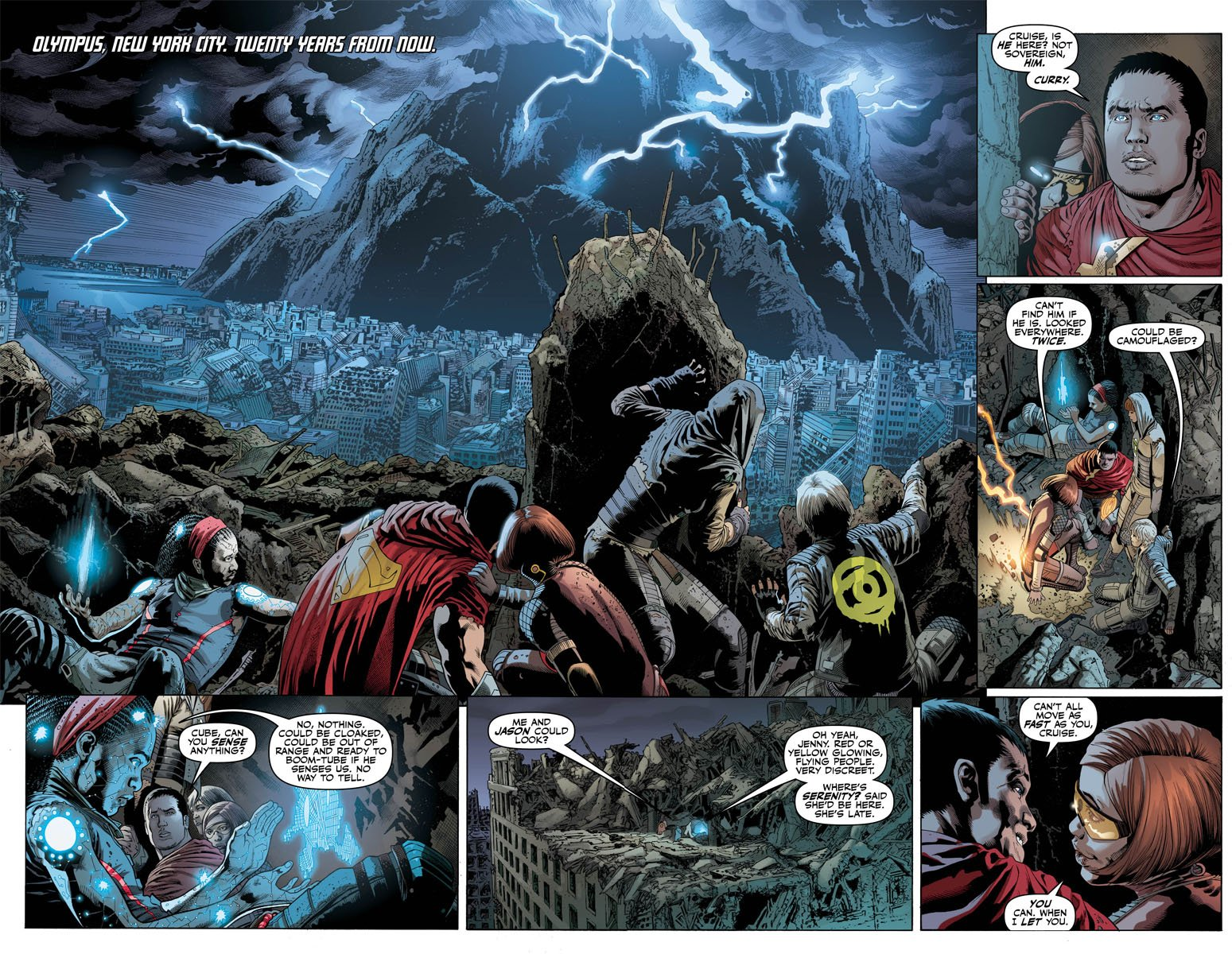 Justice League 26 pages 2 and 3