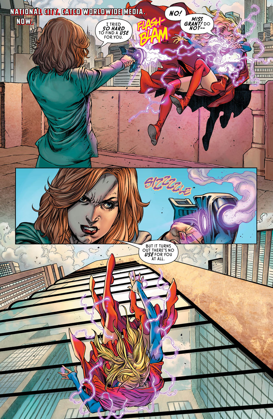 Supergirl 12 page 1
