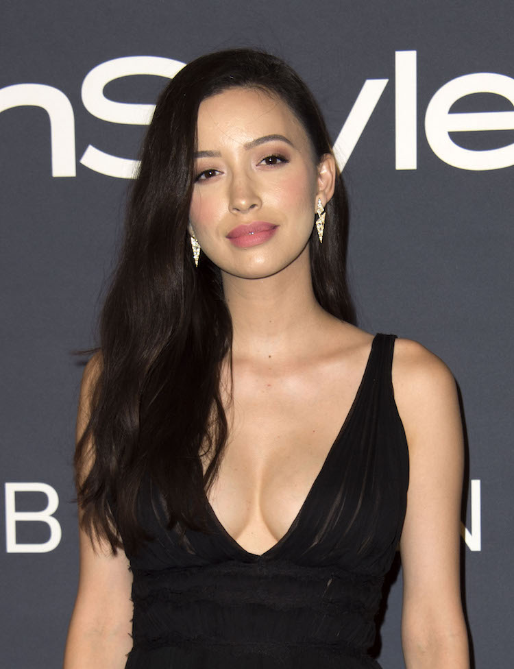 Christian Serratos And Her Cleavage Are A Walking Dream