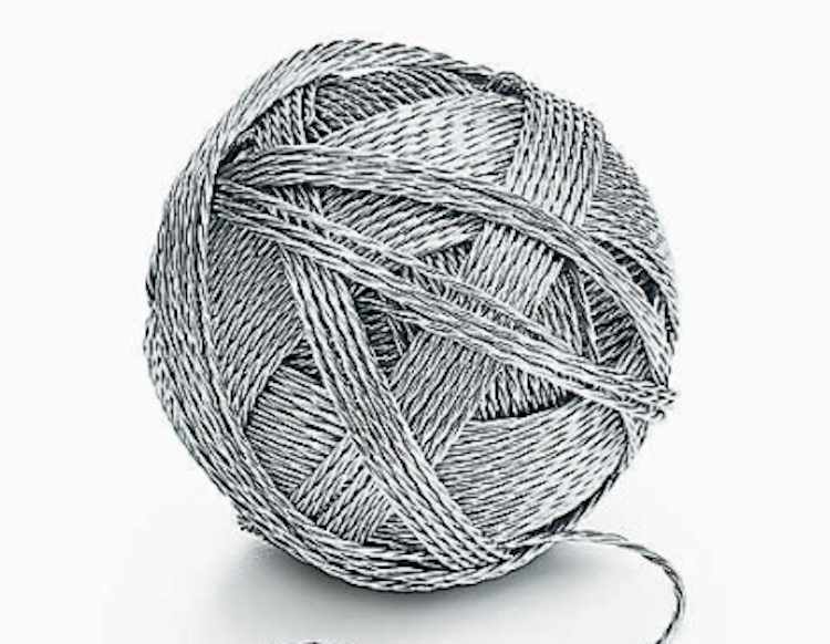 how to start a new ball of yarn