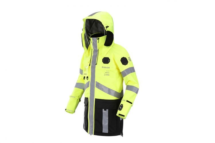 High tech rescue jacket powered by Nokia