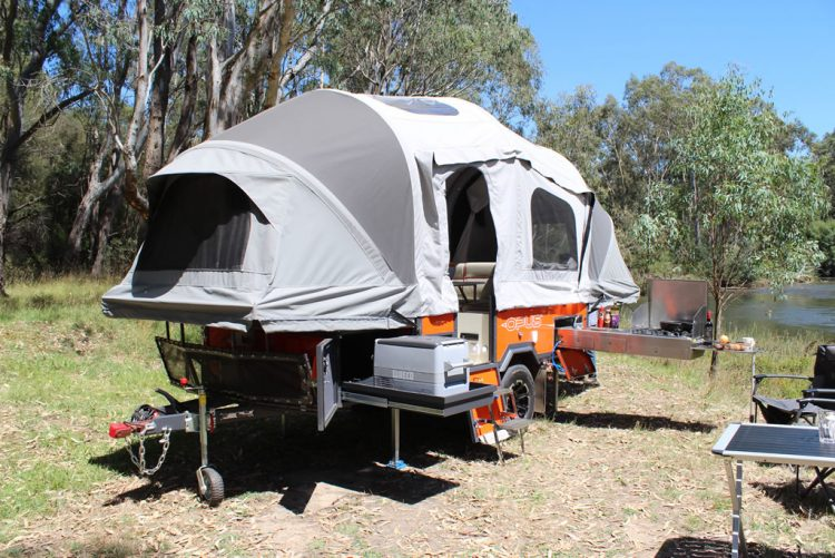 Opus Inflatable Camper