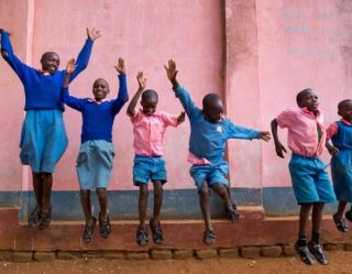 Jumping In Feet First To Save Kenyan Children