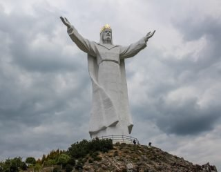 Giant Statue Of Jesus In Poland Gets Internet Antennas And Residents Are Confused