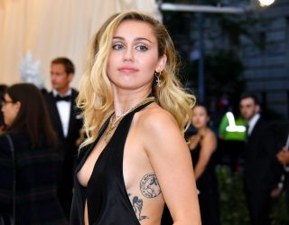 All Eyes Were On Miley Cyrus At The Met Gala