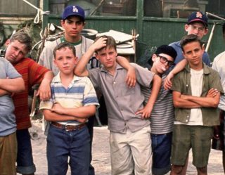 """The Sandlot"" Cast Reunited At Dodger Stadium For 25th Anniversary"
