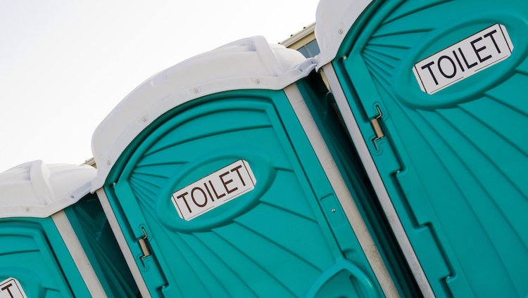 porta potties