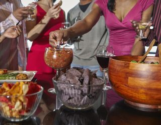 Experts Say 'Double Dipping' At Parties Can Lead To Herpes