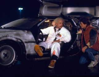 Future Tech: Self-Driving DeLorean First Step Towards Time Travel