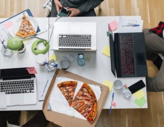 Research Says Pizza Makes You More Productive at Work