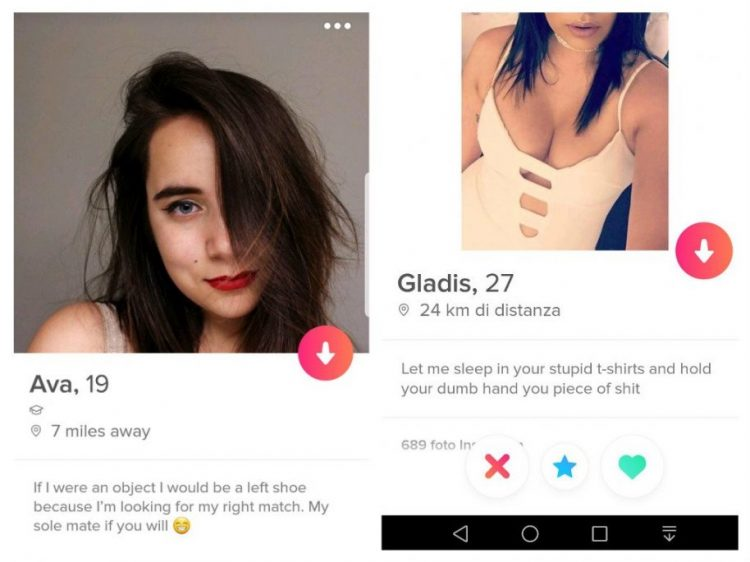 Funny tinder bios from Girls