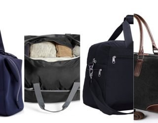 Manamorphosis: Pack Up Labor Day With The Weekender Bag
