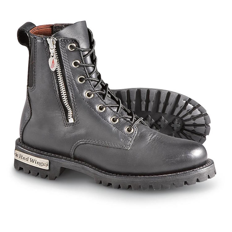 Red Wings Motorcycle Boots