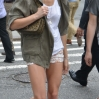 Ashley Greene out and about in Soho