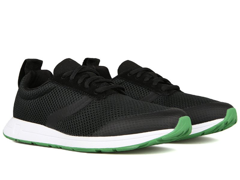 The Henry, in Black with Field Green