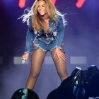 """Beyonce performs during opening night of the """"On The Run Tour: Beyonce And Jay-Z"""" at Sun Life Stadium on June 25, 2014 in Miami Gardens, Florida."""