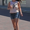 Britney Spears shopping at Planet Blue's flagship store in Malibu. Spears was spotted wearing cutoff denim shorts, a Texas Longhorns tank top and Ugg boots. Featuring: Britney Spears Where: Los Angeles, California, United States When: 10 Mar 2014 Credit: revolutionpix/WENN.com