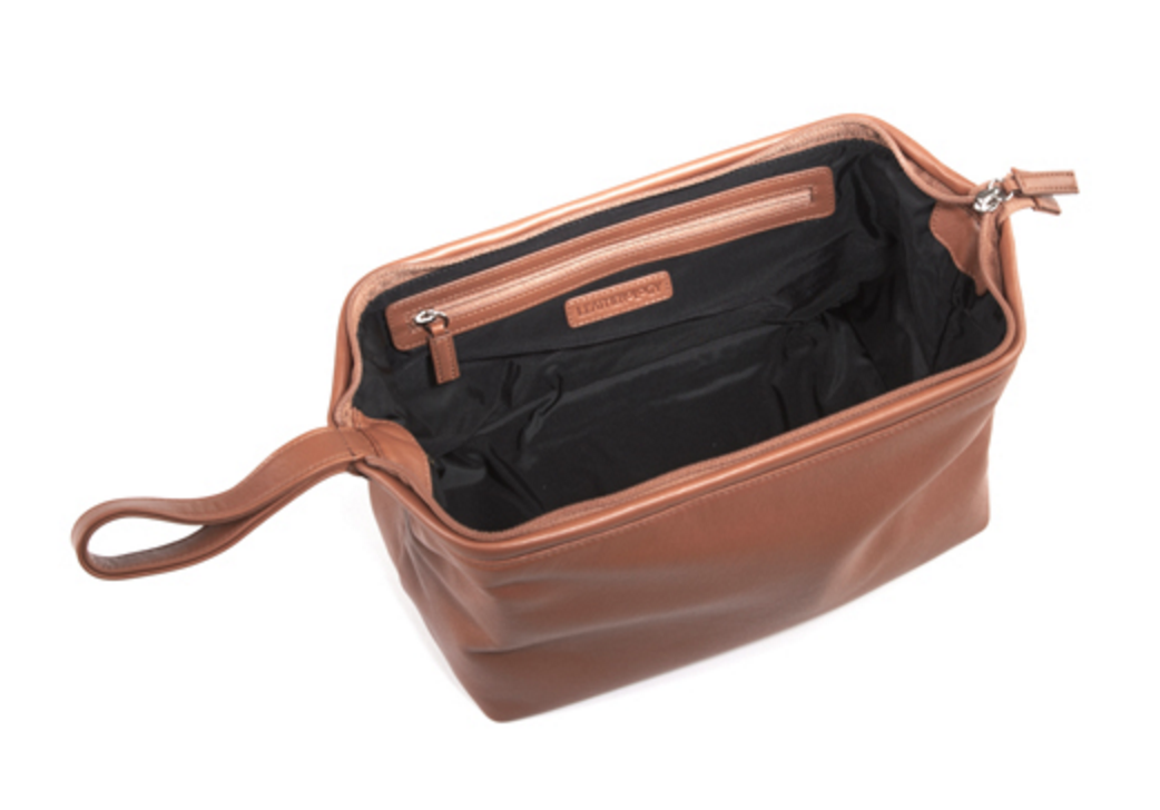 Leatherology, Framed Toiletry Bag