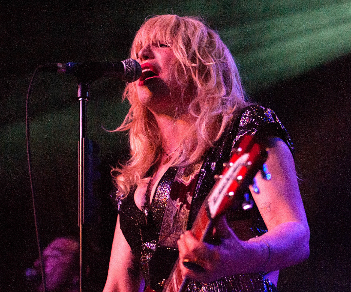 Courtney Love performs live at Emo's Austin