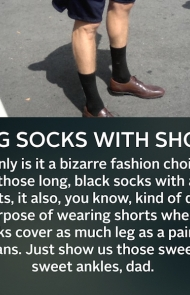 Long Socks With Shorts