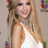 Eiza Gonzalez poses backstage at Univision's Premios Juventud Awards at Bank United Center on July 19, 2012 in Miami, Florida.