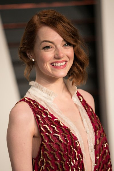 Celebrities attend 2015 Vanity Fair Oscar Party at Wallis Annenberg Center for the Performing Arts with City Hall in Beverly Hills. Featuring: Emma Stone Where: Los Angeles, California, United States When: 22 Feb 2015 Credit: Brian To/WENN.com