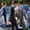 On the set of the 'Entourage' movie Featuring: Atmosphere Where: Los Angeles, California, United States When: 08 Mar 2014 Credit: WENN.com